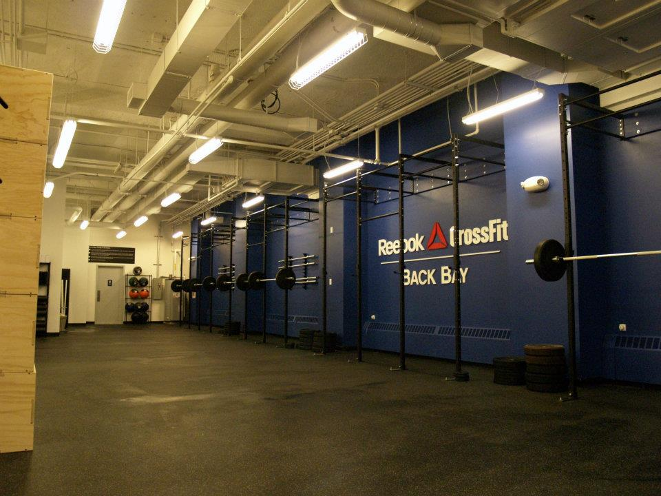 What are the reebok crossfit gyms