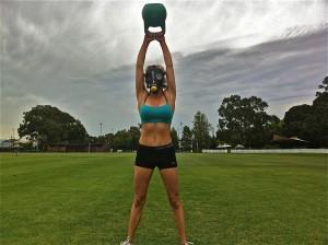 Elevation Training Mask Kettlebell Swing