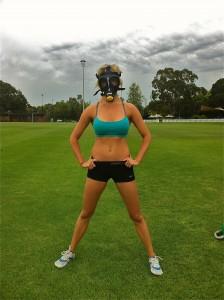 Emma in Elevation Gas Mask