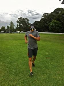 Running in Elevation Training Mask