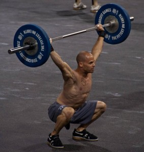 Chris Spealler at the 2010 CrossFit Games