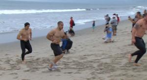 Jason Khalipa Beach Swim 2011 Reebok CrossFit Open