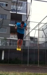 Daniel Cook Testing Fringe Sport Rings