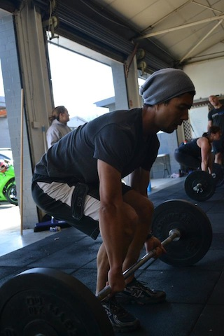 Training at Inner West CrossFit