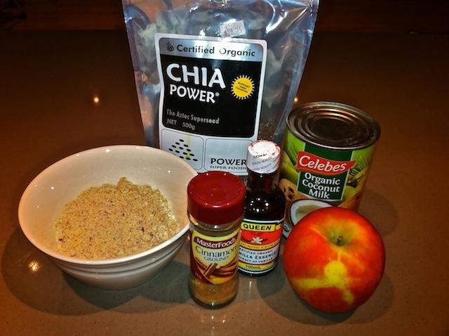 Paleo Porridge Ingredients