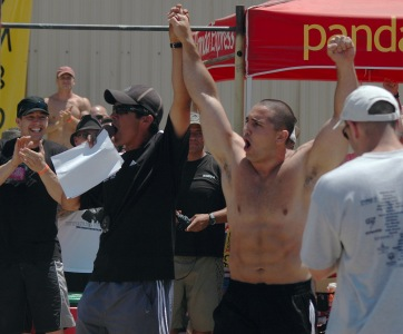 Jason Khalipa Winning the 2008 CrossFit Games