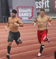 Rich Froning and Matt Chan 2012 Reebok CrossFit Games