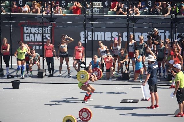 Elisabeth Akinwale 2012 Reebok CrossFit Games