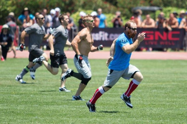 Lucas Parker Ropes CrossFit Games