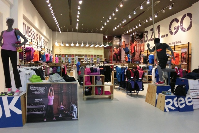 Reebok Fit Hub Stores Rollout in Middle East