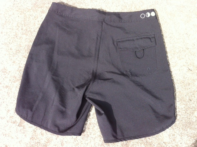 The Brave Mens Workout Shorts: Rear View