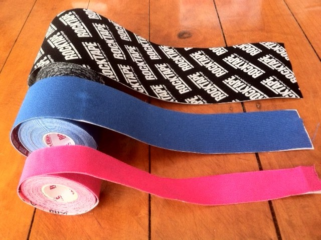 Different sizes of ROCKTAPE