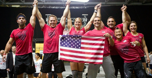 Team USA Wins the CrossFit Invitational