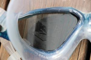 Aqua Sphere Vista Goggles Lens Scratch
