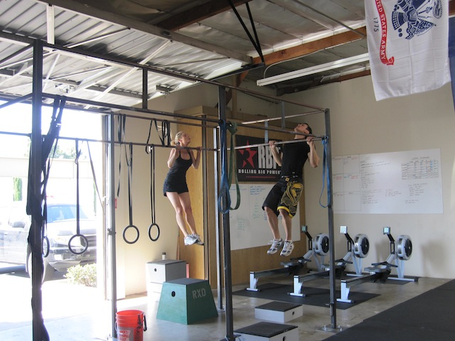 Emma Walsh & Michael McCoy at CrossFit RXD