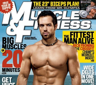 Rich Froning Jr Muscle & Fitness
