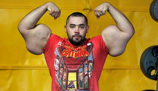 Moustafa Ismail World Record Arms worlds biggest arms