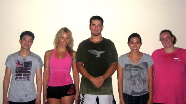 Members of S2S CrossFit's First Ever WOD!