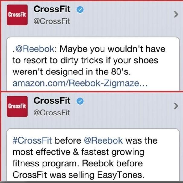 CrossFit/ReebokTweets