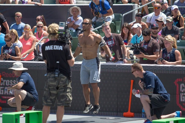 Neal Maddox during the 2012 CrossFit Games