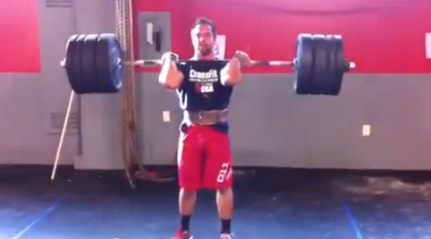 Rich Froning Breaks Two New PRs