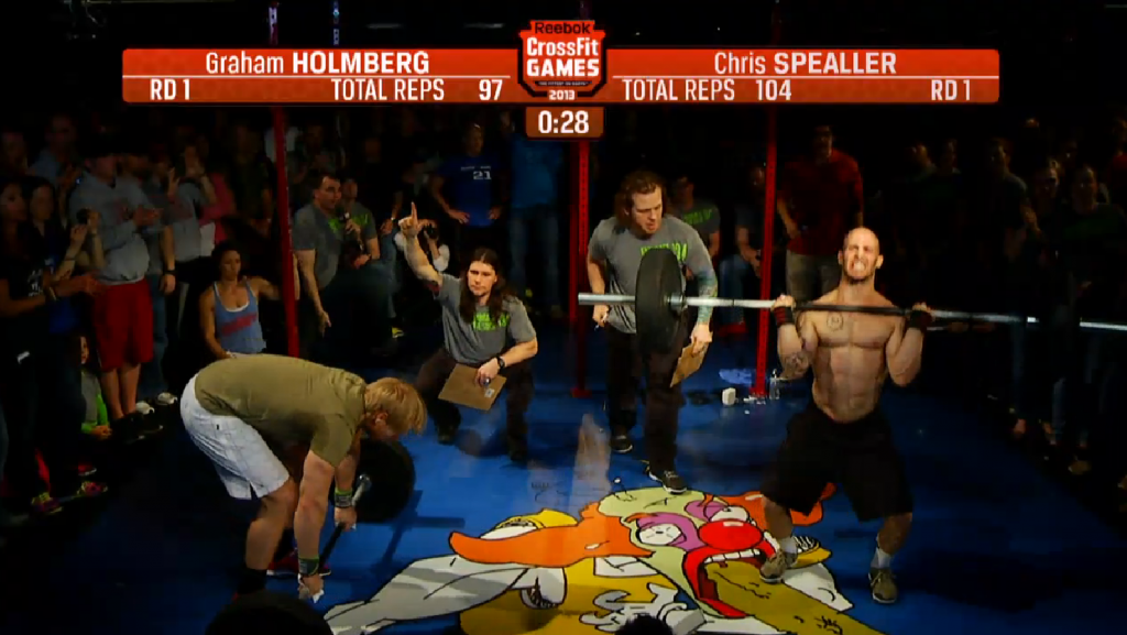Speller vs Holmberg CrossFit Open 13.4