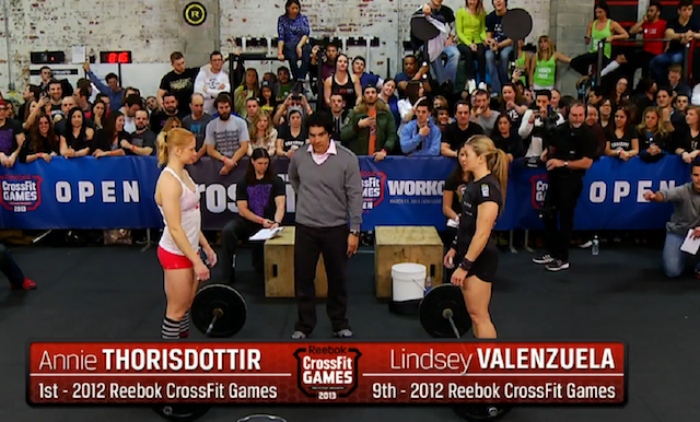 Reebok CrossFit Open Workout 13.2: Valenzuela vs Thorisdottir