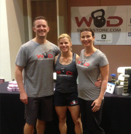Mark (left) and Bridgett (right) From WOD Superstore