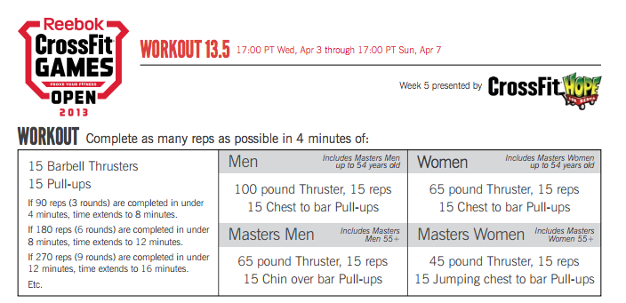 reebok crossfit exercise program