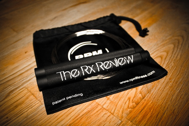 Limited Edition 'The Rx Review' RPM Speed Rope!
