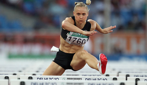 Andrea Miller During Her Athletics Career