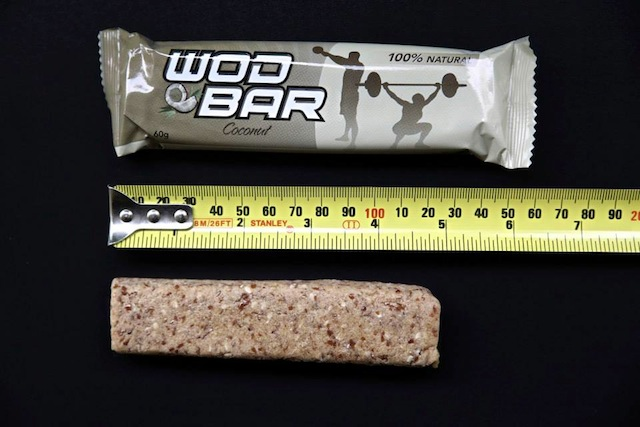 180 Nutrition WOD Bar Close Up