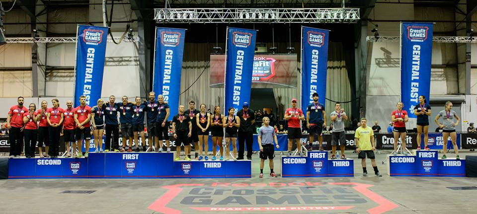 2013 CrossFit Central East Regional (Image courtesy of CrossFit's Facebook Page).