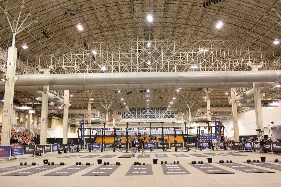 2013 CrossFit North Central Regional (Image courtesy of CrossFit's Facebook Page).