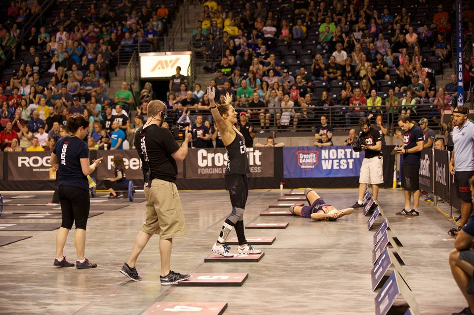 2013 CrossFit North West Regional (Image courtesy of CrossFit's Facebook Page).