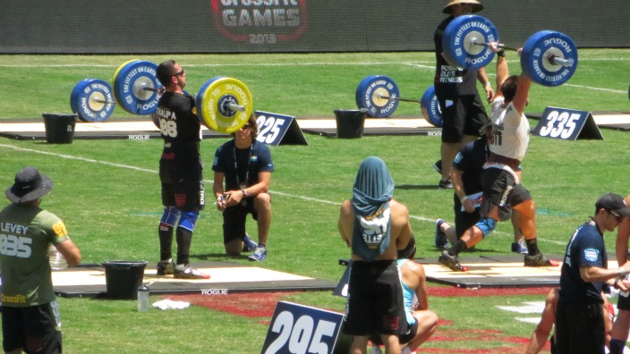 Khalipa and Froning do Battle in the Clean and Jerk Ladder