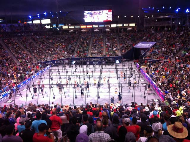 The '2007' Event Under Lights at the 2013 CrossFit Games