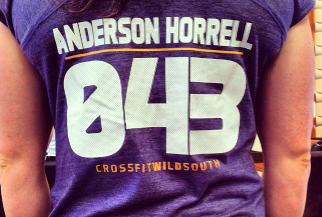 Ruth Anderson horrell 2013 crossfit games