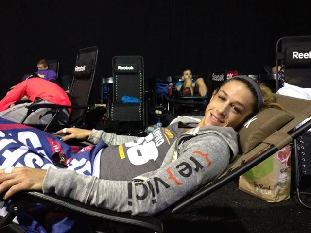 CrossFit Games Competitor Michelle Crawford Wearing {re}vici Gear!