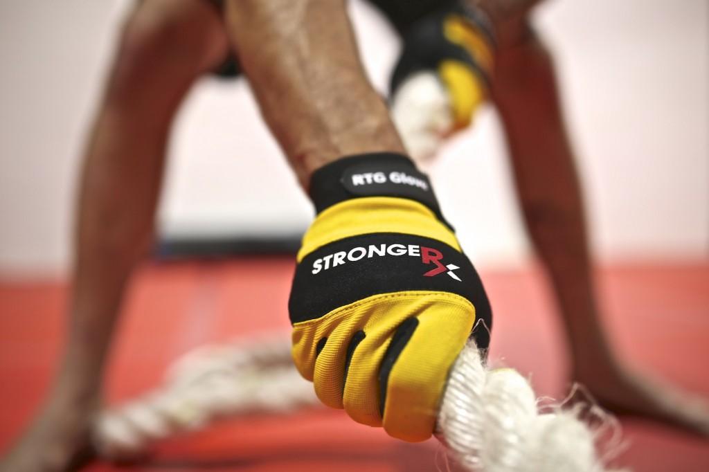 StrongerRx RTG Gloves Rope Pulls