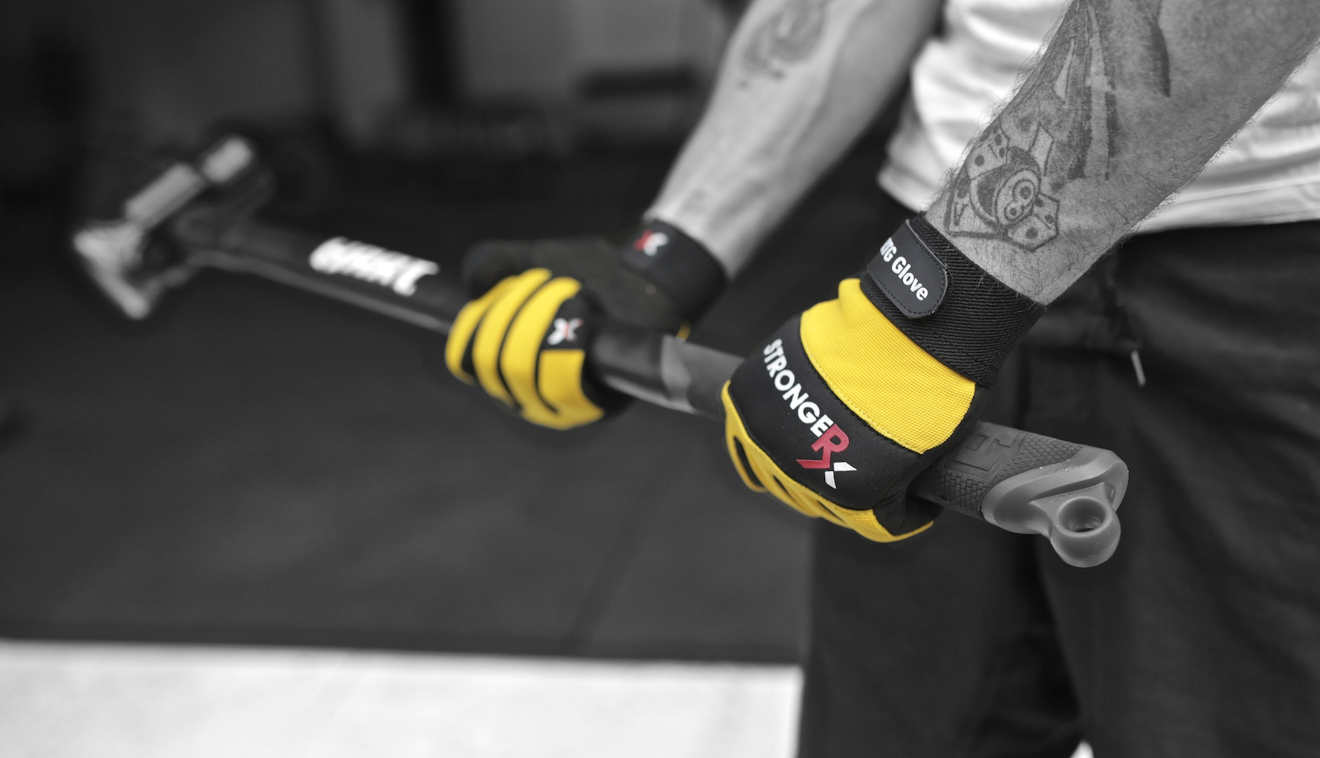 StrongerRx RTG Gloves Sledge Hammer
