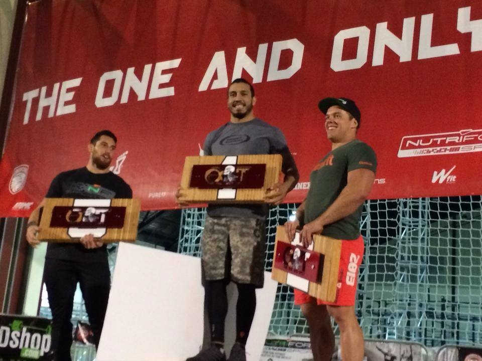 2014 OC Throwdown- Male Winners