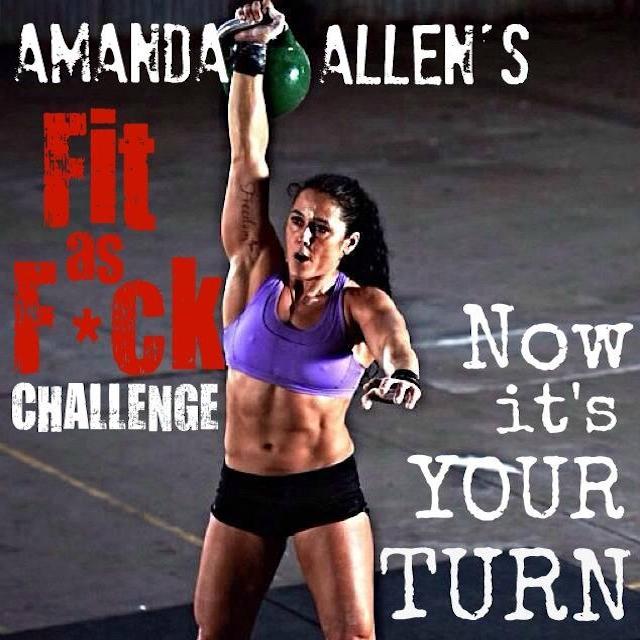 Amanda Allen Fit as F*ck