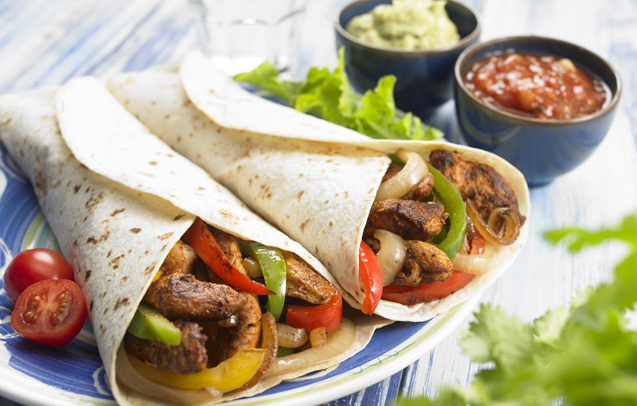 Fajitas eating clean