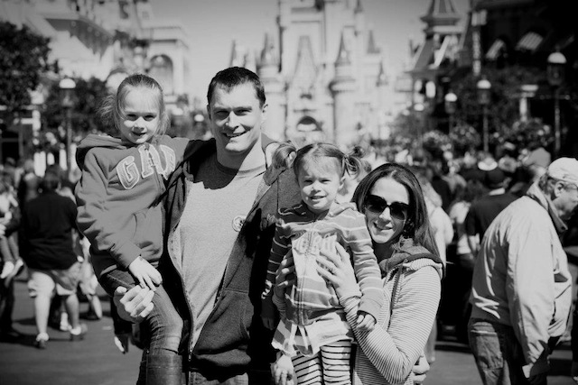 Michelle Crawford and her family
