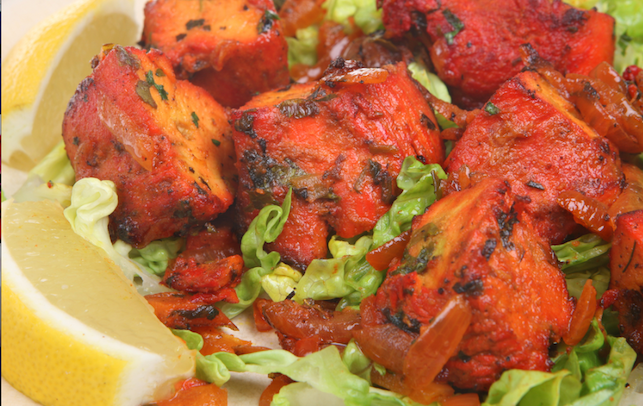tandoori chicken eating clean