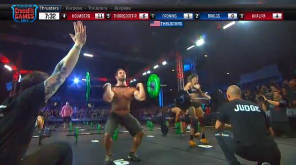 Froning Defeats Briggs in 14.5