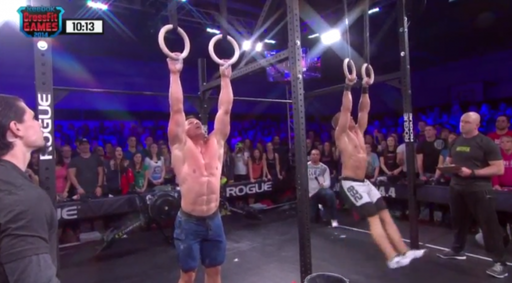 Bridges Defeats Panchik in CrossFit Open 14.4