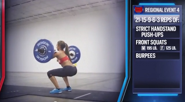 2014 CrossFit Regionals Day 2 Workouts