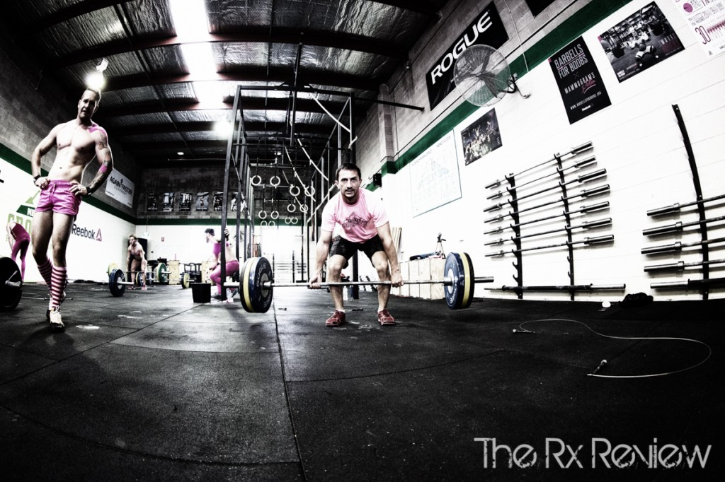"Deadlifts in ""Bradshaw"""
